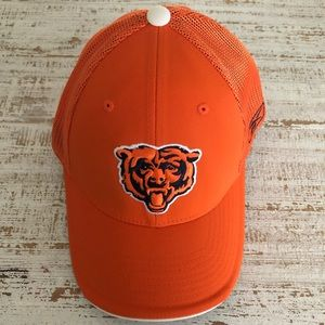 Fitted Orange Chicago Bears Hat